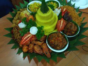 Pesan Nasi Tumpeng di Ancol Jakarta Utara